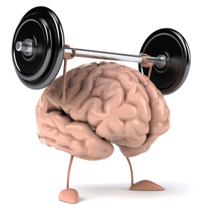 The Weight-lifting Brain